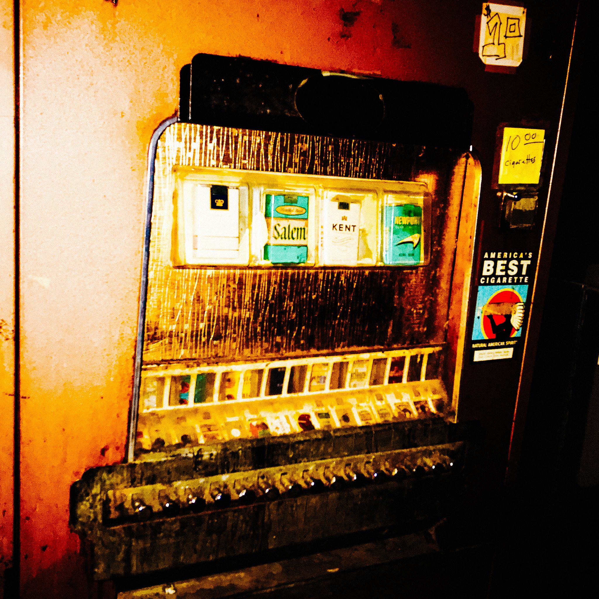 Cigarette Machine at the Continental Club
